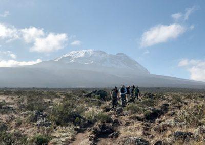 Climbing Mt. Kilimanjaro, 2018